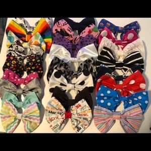 Hair bow lot